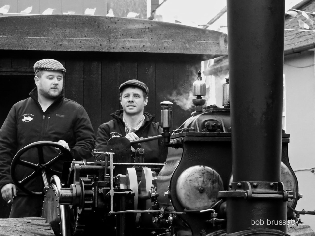 Lads on a Tractor